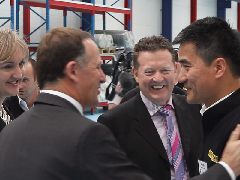 PM John Key at the Conqueror international opening